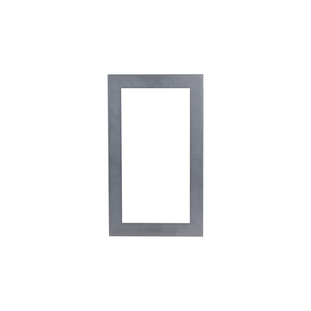 TURM IP Video Türsprechanlage Modulrahmen für zwei Module