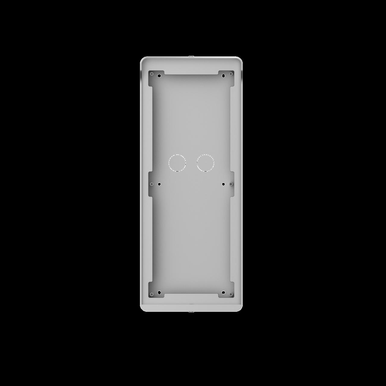 TURM IP Video Türsprechanlage Aufputz Montagerahmen für die modulare Außenstation mit drei Modulen