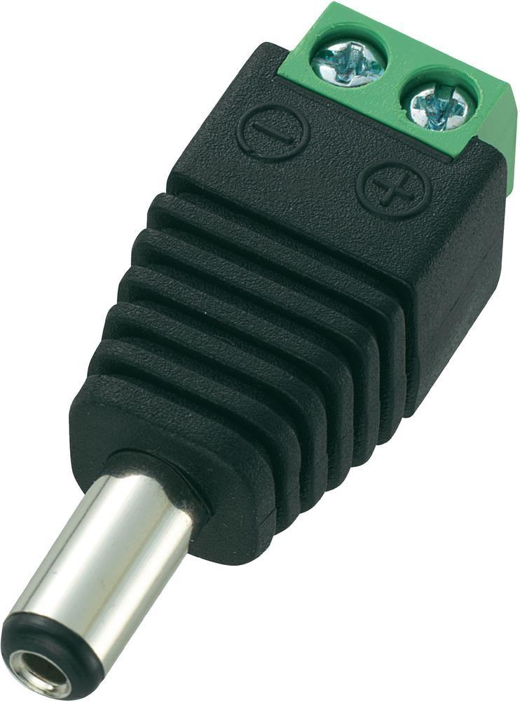 100 Stk. DC-Stecker für Stromanschluss, Niedervoltstecker