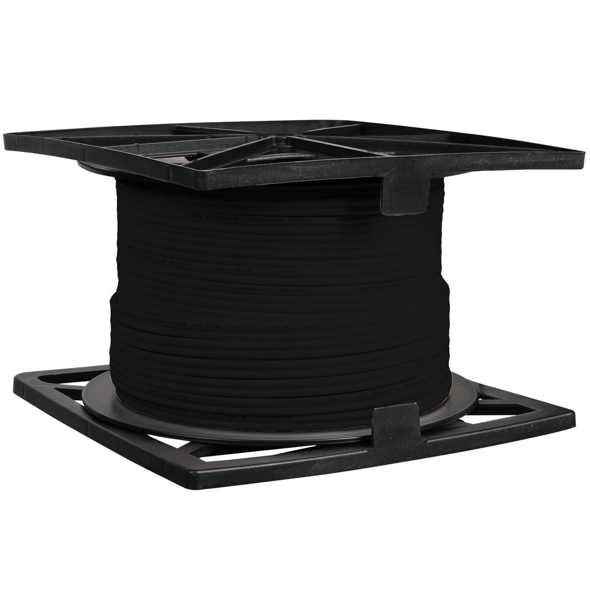 TURM Koax Kombikabel 305m Video/Strom für Videoüberwachung, RG59+2x0,75qmm für Überwachungskameras b