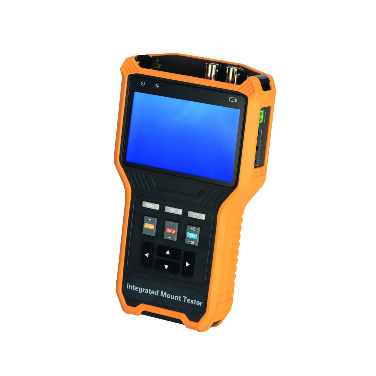TURM Testgerät für HDCVI, AHD, TVI, CVBS Kameras bis 4 MP Auflösung