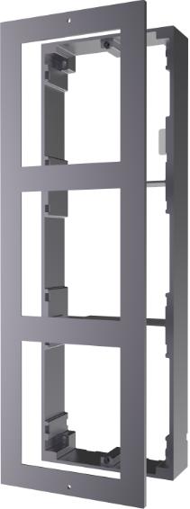Hikvison Türsprechanlage Aufputzrahmen für 3 Module