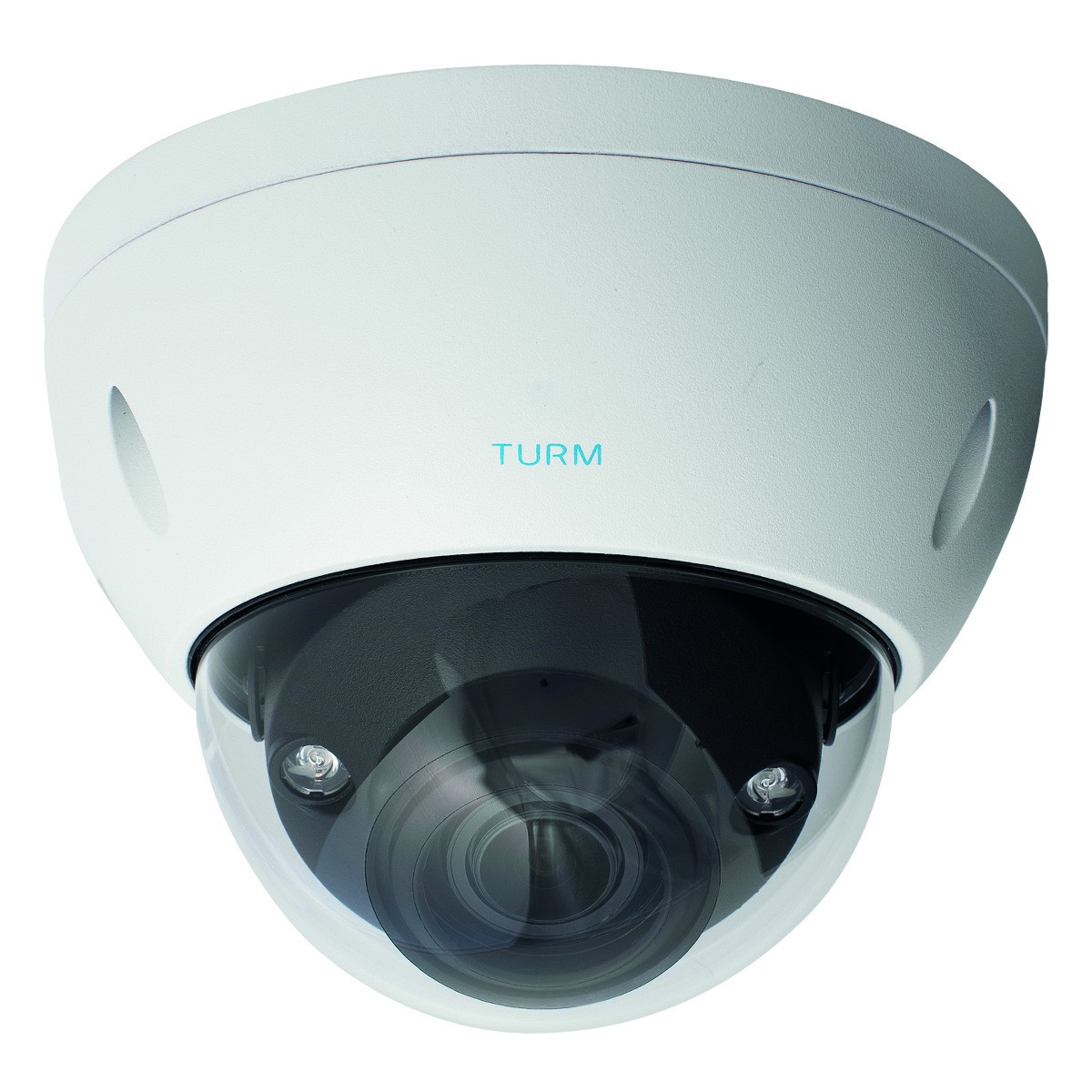 TURM IP Ultra 8 MP 4K Dome Kamera mit intelligenter Videoanalyse und Motorzoom