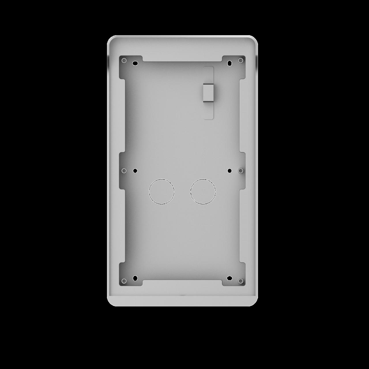 TURM IP Video Türsprechanlage Aufputz Montagerahmen für die modulare Außenstation mit zwei Modulen
