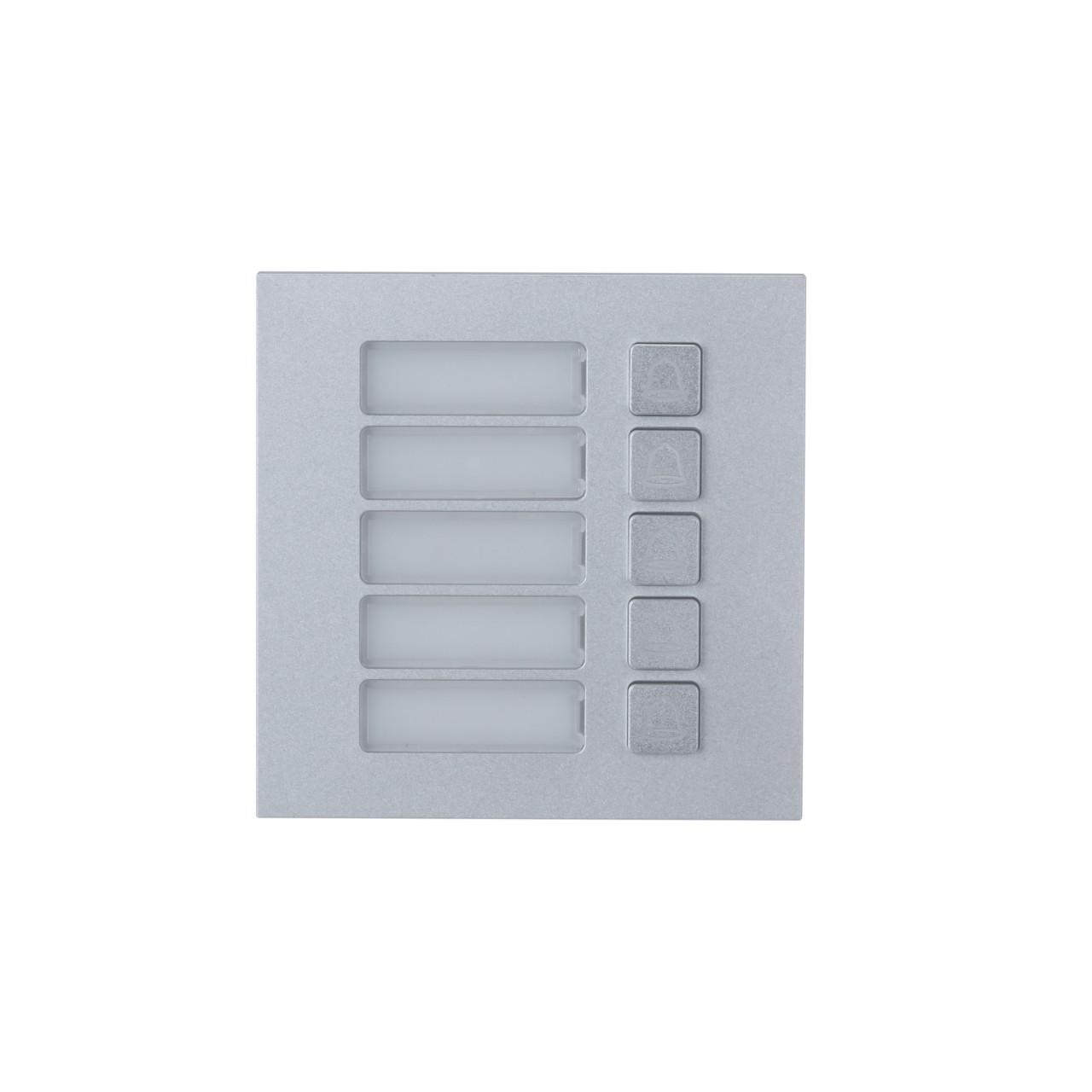 TURM IP Video Türsprechanlage 5 Klingeltaster Modul für die Außenstation