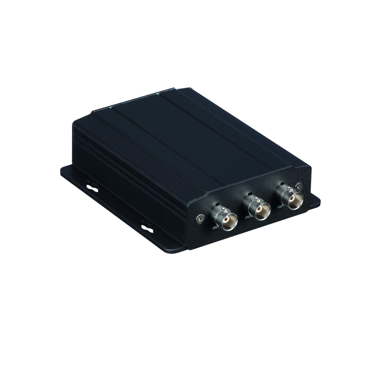 TURM Full HD Signalverteiler 1 HDCVI Anschluss auf 3 HDCVI Anschlüsse bis max. 300m