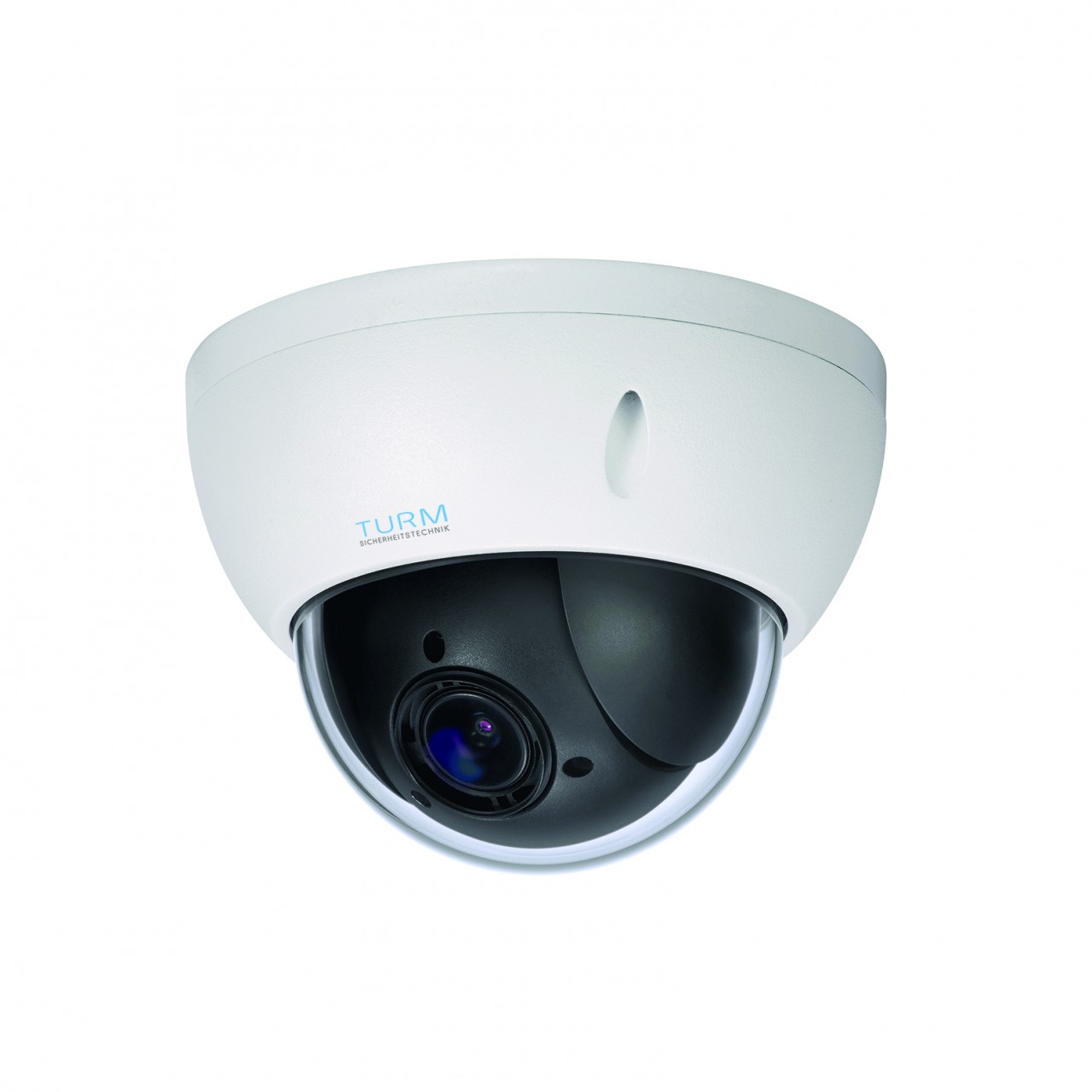 TURM IP Professional 4 MP PTZ Dome Kamera mit 4x Zoom, IVS, Micro SD, PoE und Onvif
