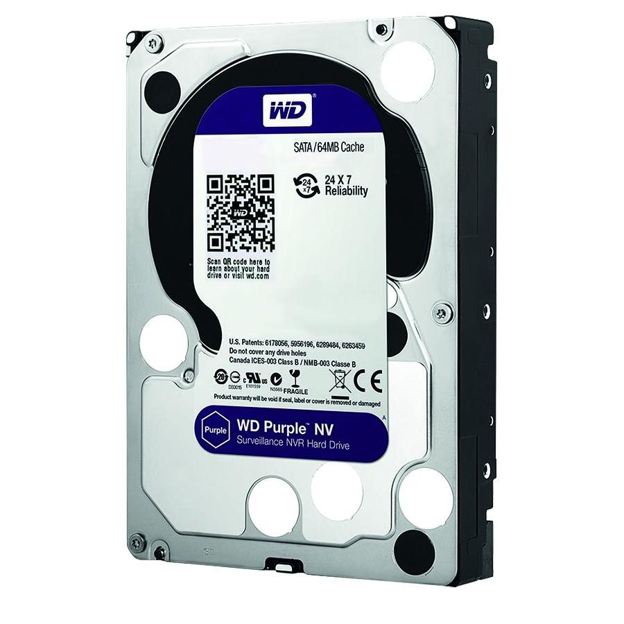 "WD Purple 2 TB Festplatte für Videoüberwachung 3,5"", 5400 U/min, WD20PURZ"
