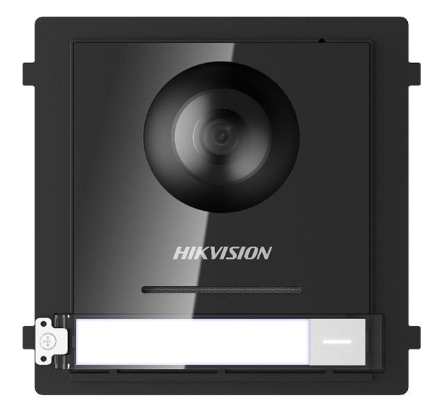 Hikvision Türsprechanlage 2MP Fish-Eye 180° Kamera Modul mit Klingeltaster und Nachtsicht für die Au