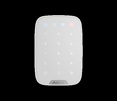 AJAX KeyPad Bedienfeld mit Touch Tastatur Weiß (HAN 8706)