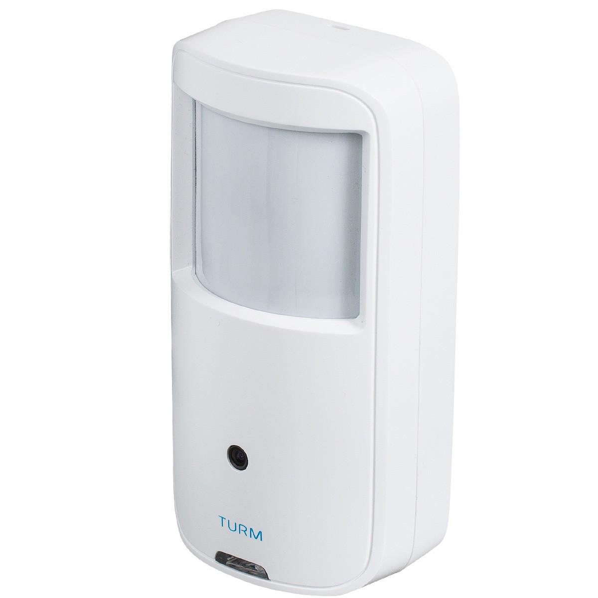 TURM HDCVI Lite 2 MP Bewegungsmelder mit Überwachungskamera und 100° Weitwinkel