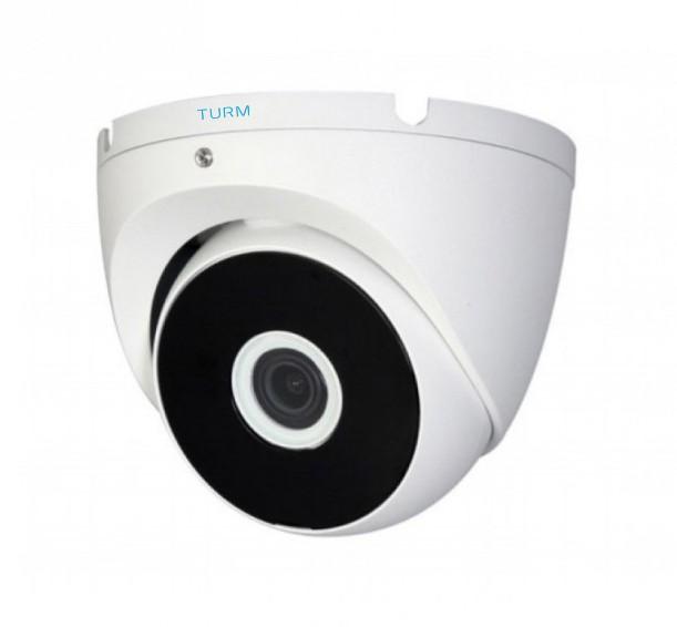 TURM HDCVI Lite 1 MP Dome Kamera, 20m Nachtsicht und 2,8mm Objektiv mit 93° Blickwinkel