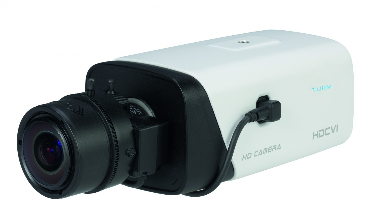 TURM HDCVI Professional 2.1 MP BOX Kamera, Starlight Lichtempfindlichkeit 0,005LUX, 120dB WDR