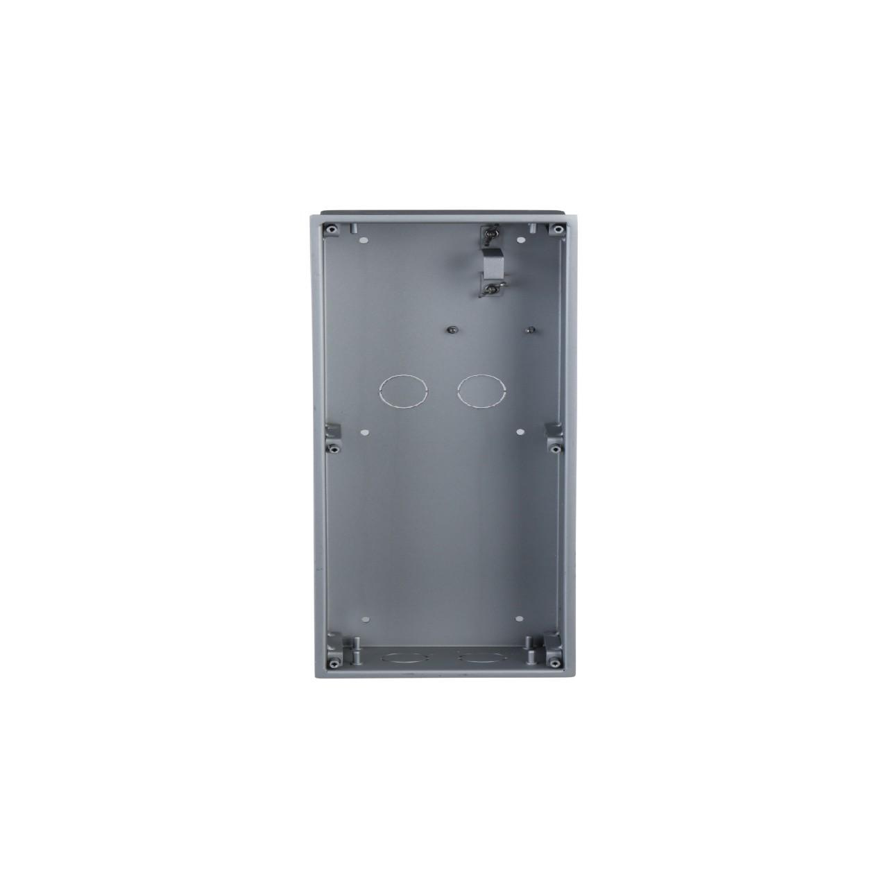 TURM IP Video Türsprechanlage Unterputz Einbaurahmen für die modulare Außenstation mit zwei Modulen