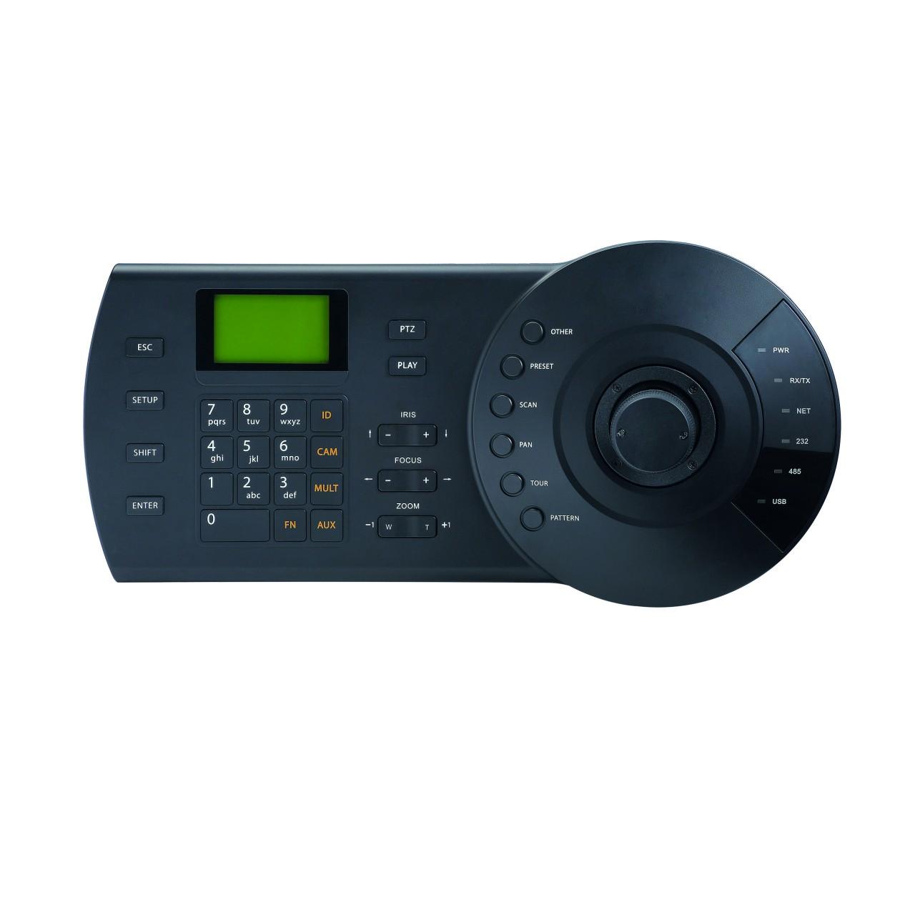 TURM Netzwerk Steuergerät für PTZ Kameras, USB, RJ45, RS485