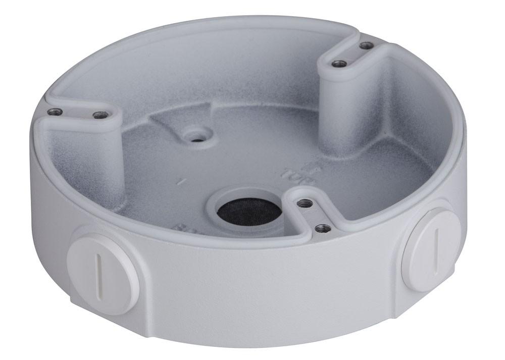 TURM Anschlussbox für mittelgroße Dome Kameras zur Wand- und Deckenmontage