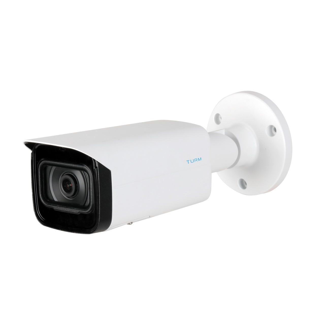 TURM Professional 4 MP Bullet Kamera, 80m Nachtsicht mit Starlight, 3.6mm, PoE und WDR
