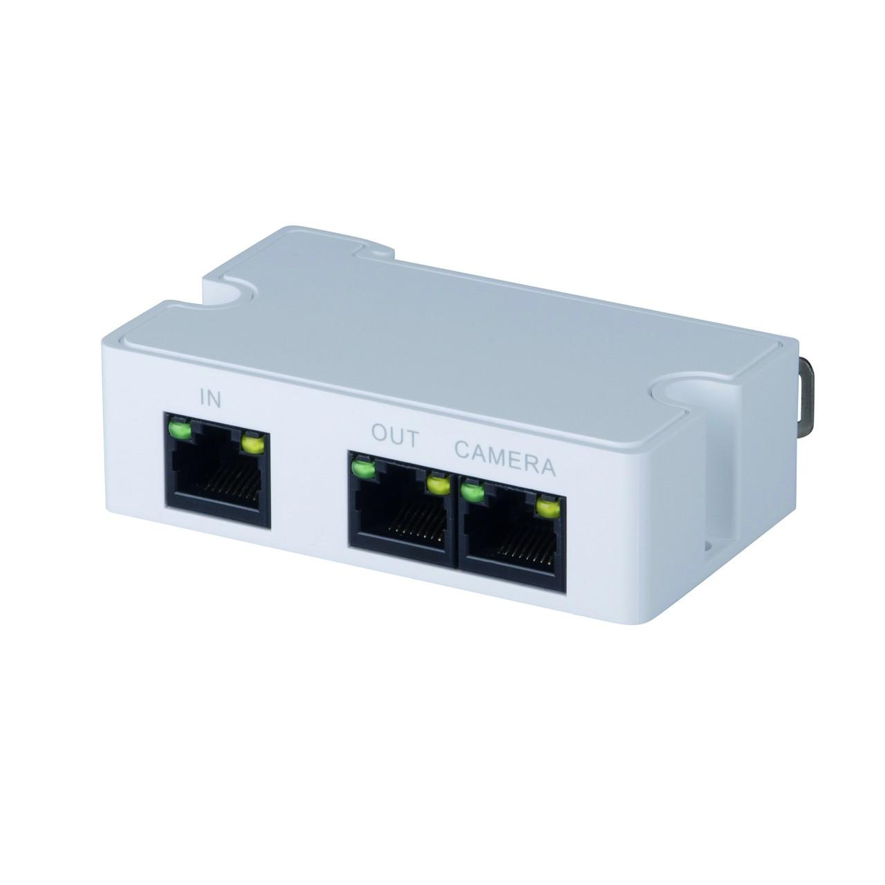 TURM PoE Verteiler für Stromversorgung von 2 IP Kameras an einer PoE Leitung