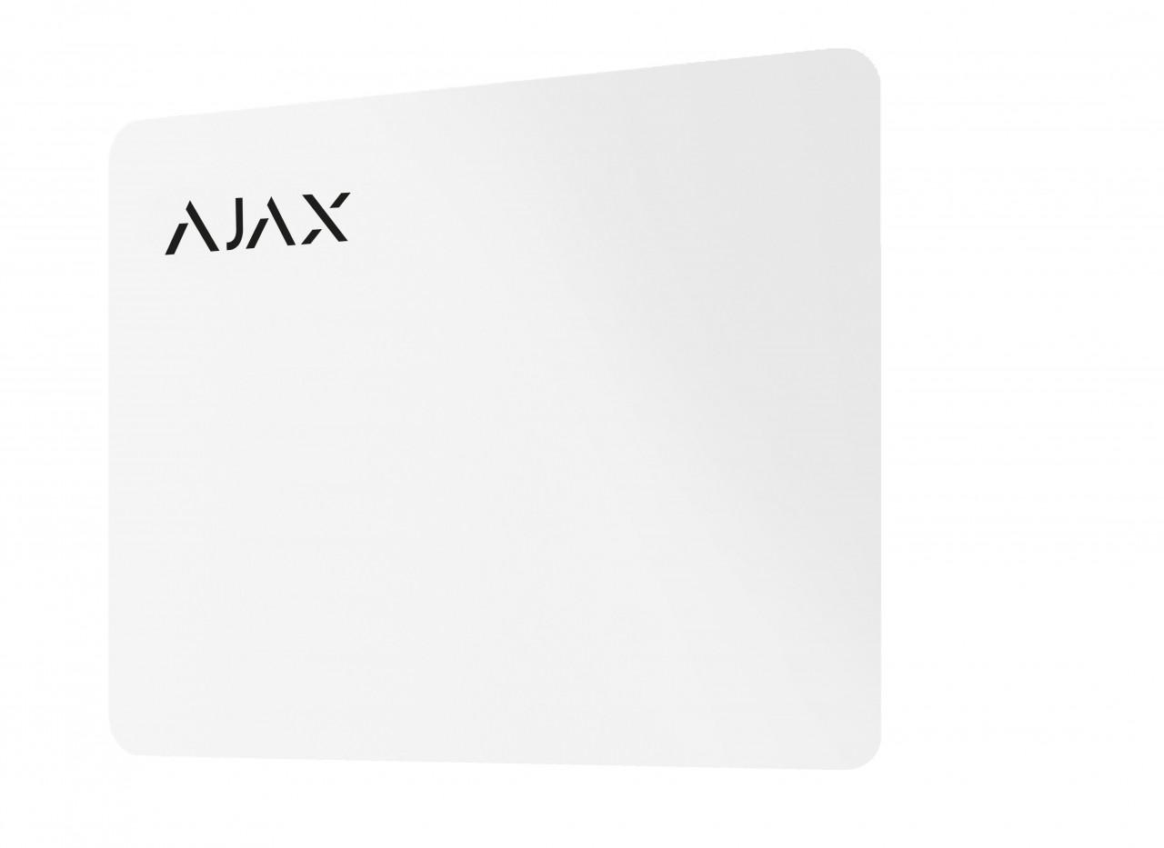 AJAXPasswhite Karte Weiß (HAN 23500)
