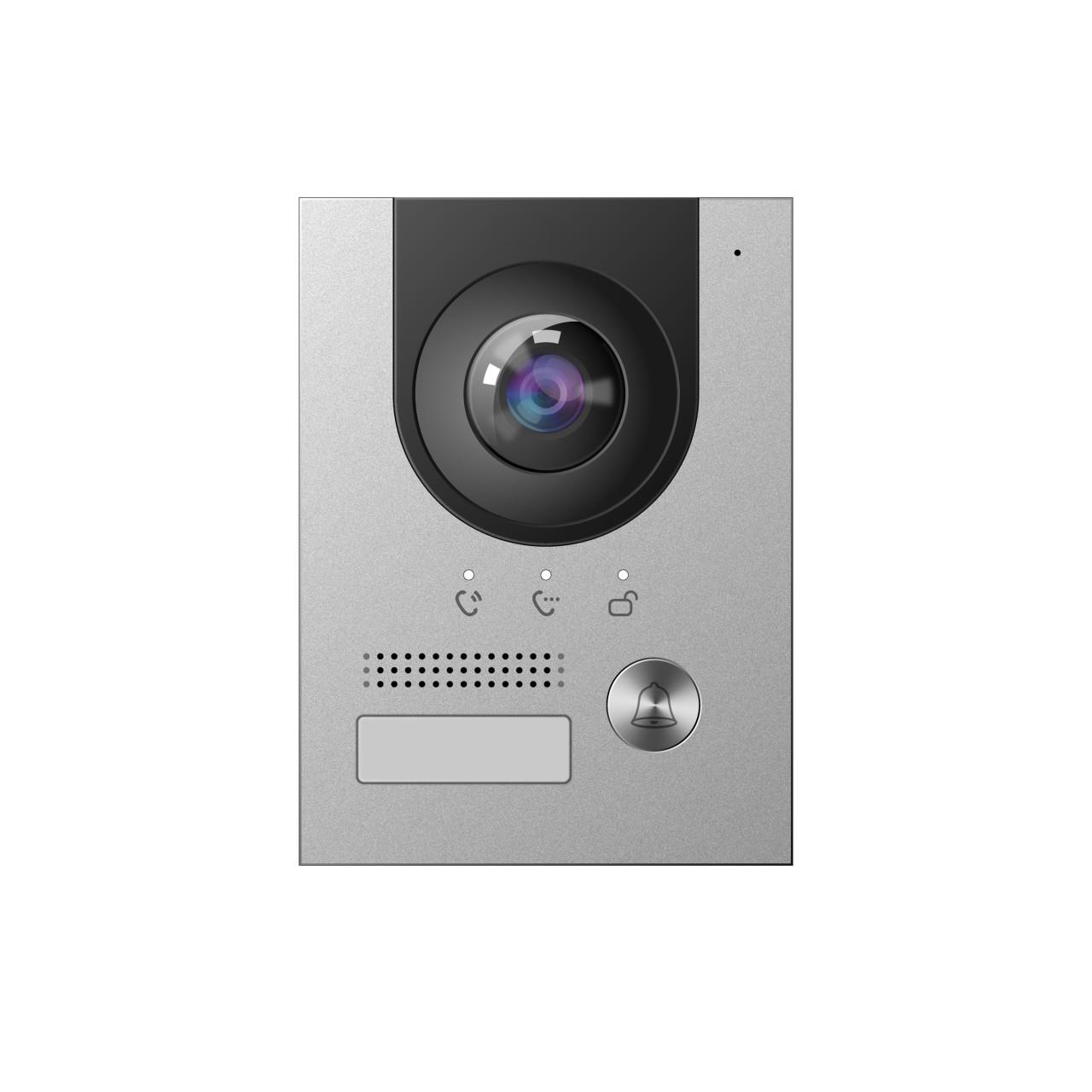 TURM IP Video Türsprechanlage Außenstation PoE oder 2-Draht-BUS mit 2 Megapixel und 160° Blickwinkel