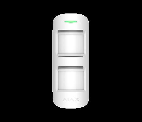 AJAX MotionProtect Outdoor Außenbewegungsmelder Weiß (HAN 12895)