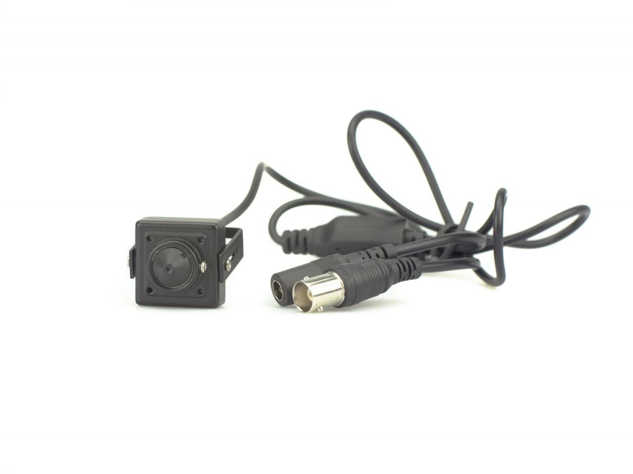 TURM HDCVI Lite 2 MP Mini Überwachungskamera mit Nadelöhr Objektiv,Starlight Lichtempfindlichkeit 0.