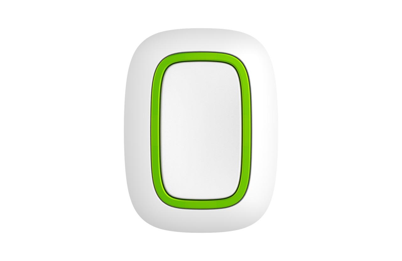 AJAX Button Panikknopf / Szenariensteuerung Weiß (HAN 10315)