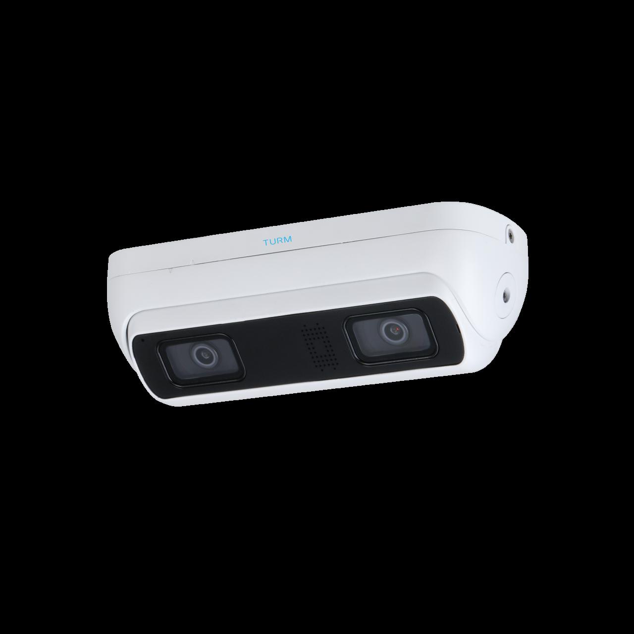 TURM IP Ultra 3 MP MindAI Kamera zur Personenzählung mit 2 Sensoren, 2.8mm, H.265, WDR, Micro SD bis