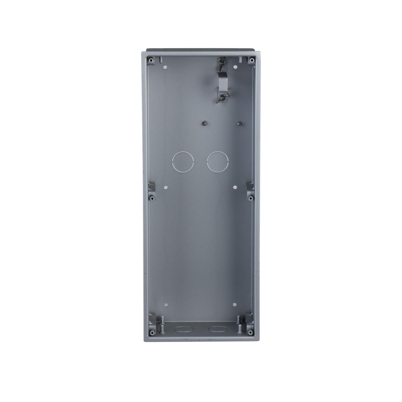 TURM IP Video Türsprechanlage Unterputz Einbaurahmen für die modulare Außenstation mit drei Modulen