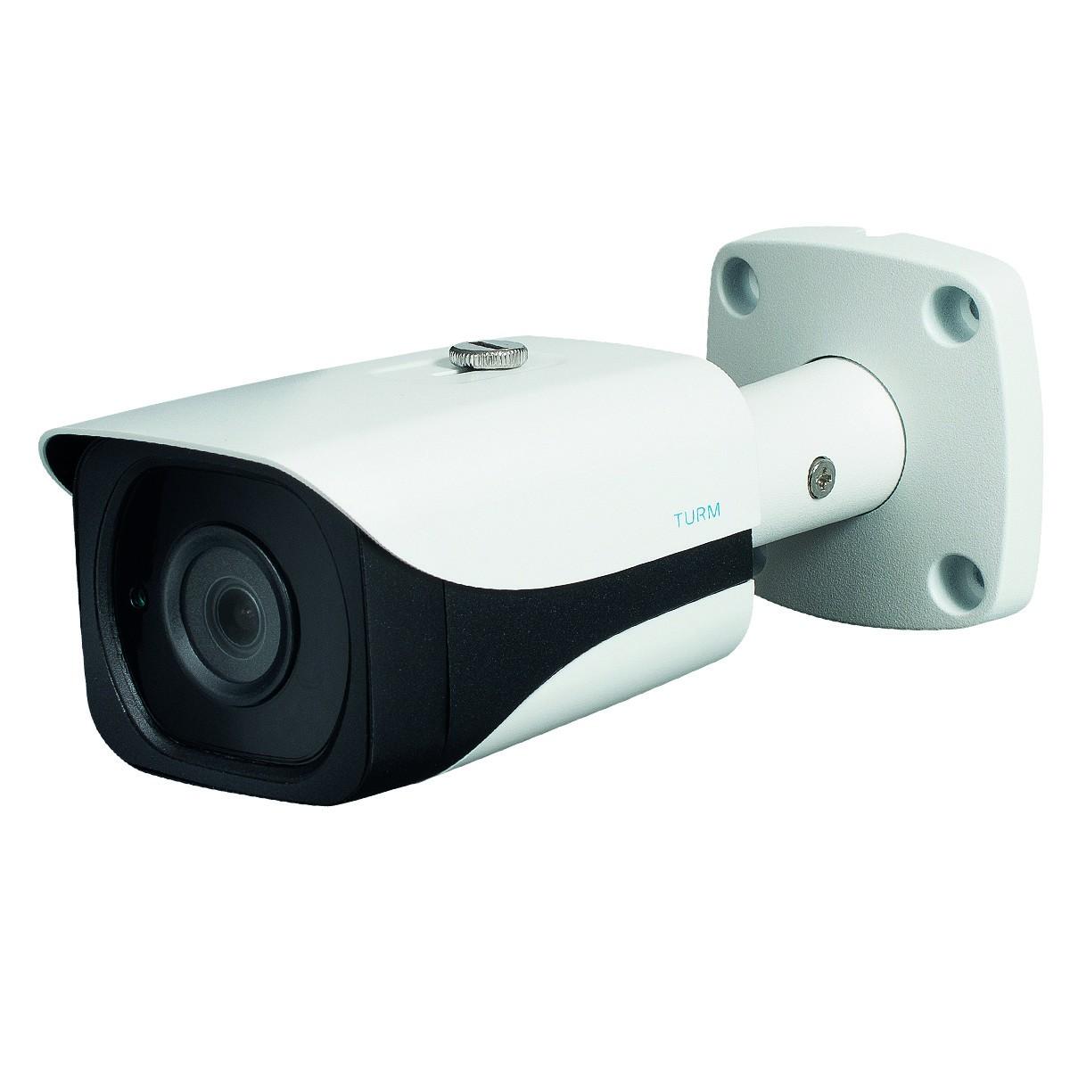 TURM HDCVI Professional 4.1 MP Bullet Kamera, 40m Nachtsicht, 3.6mm Objektiv mit 79° Blickwinkel und