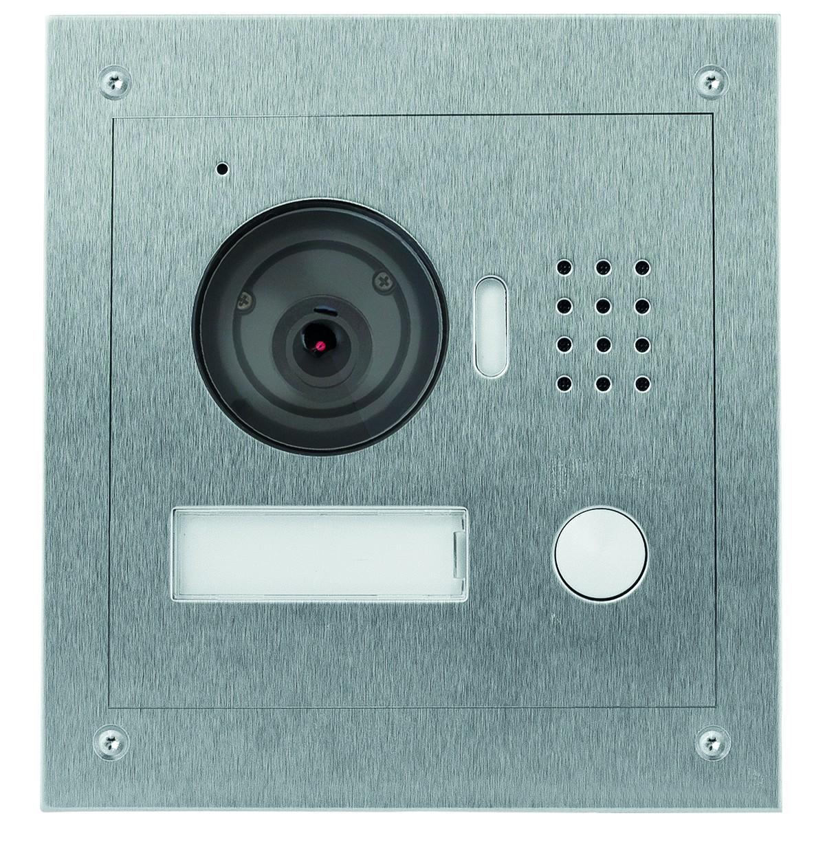TURM IP Video Türsprechanlage Außenstation für Einfamilienhaus mit 1.3 Megapixel und 120° Blickwinke