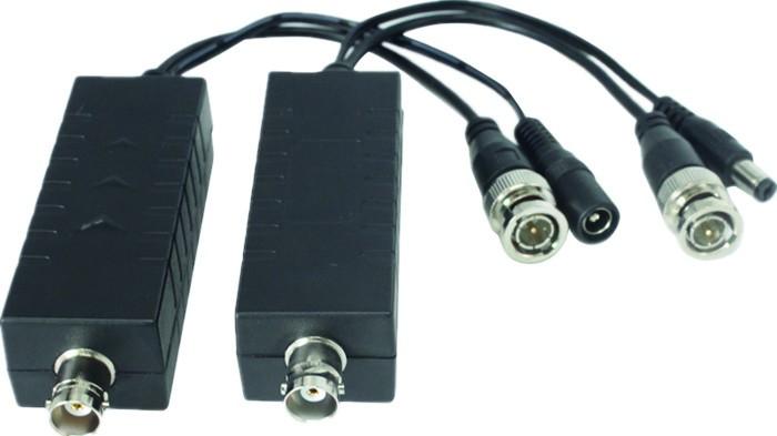 Power over Koax Adapter, Strom und Video über ein Koaxialkabel für Überwachungskamera