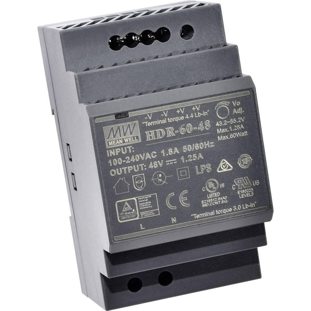DC Hutschienentrafo 48V 1,25A 60W für IP -Draht Module, 2IPM-V2