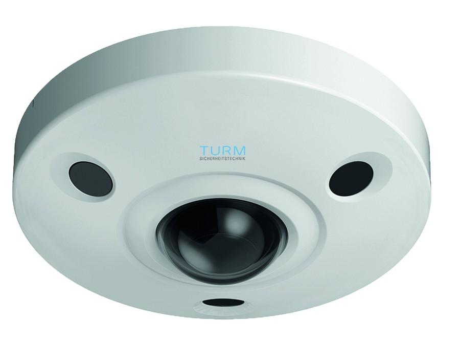 TURM IP Ultra 12MP Fisheye Rundumsicht-Überwachungskamera, 10m Nachtsicht,180° Blickwinkel, PoE, Onv