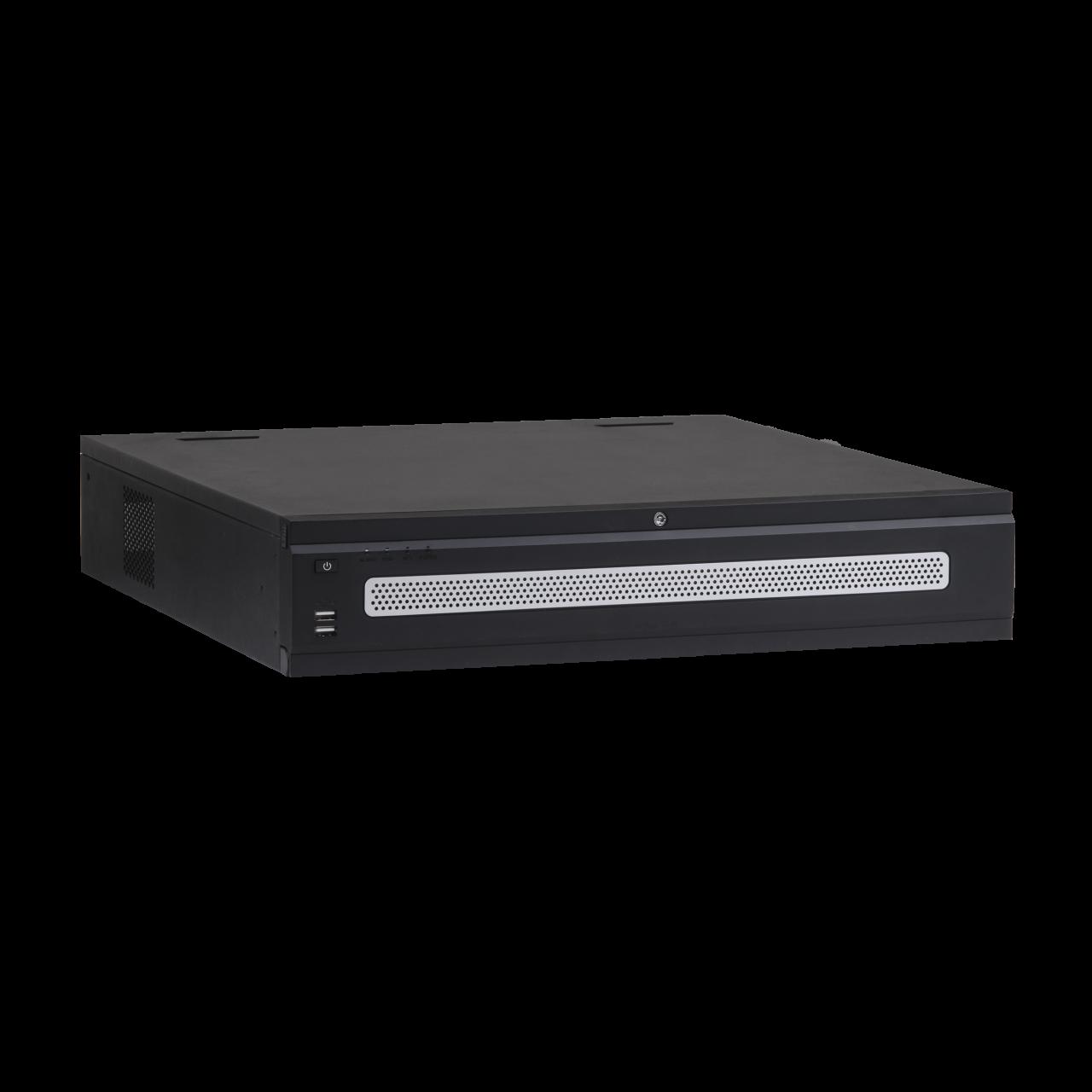 TURM Ultra 4K NVR Rekorder für 128 IP Kameras bis 12 MP mit 384 Mbps, RAID und 2x NIC