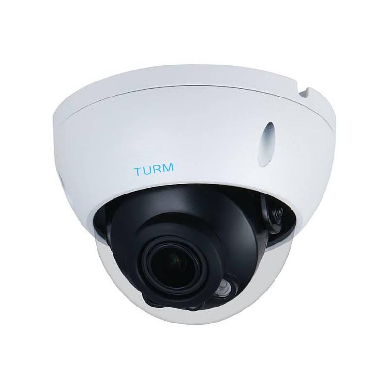 TURM IP Professional 4 MP Dome IP Kamera mit 30m Nachtsicht, 104° Weitwinkel, WDR, PoE und H.265+