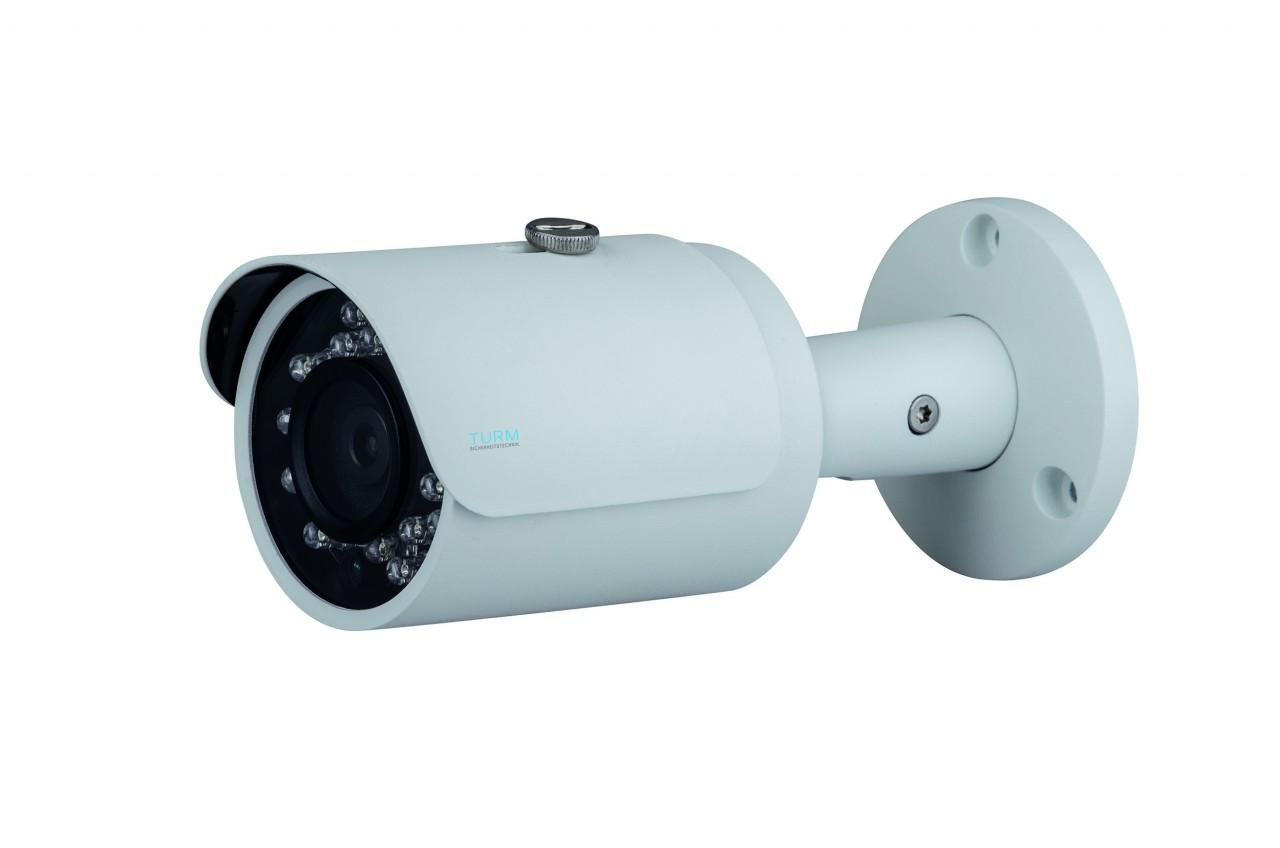 TURM IP Lite 2 MP Bullet Kamera mit 30m Nachtsicht, 2.8mm Objektiv und PoE