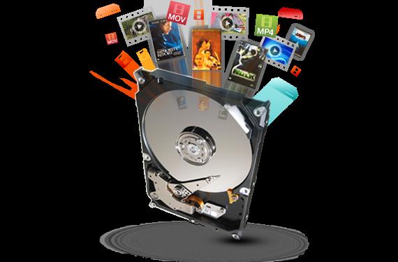 "Seagate 2TB Festplatte, 3,5"", 5900 U/min, 6 Gbit/s, für XVR / NVR Rekorder"