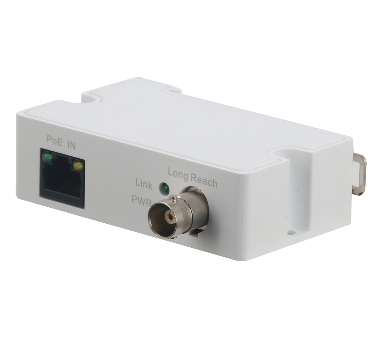 TURM EoC- Ethernet auf Koaxialkabel, Exttender inkl. Stromversorgung, RJ45 auf BNC (Switch Seite)